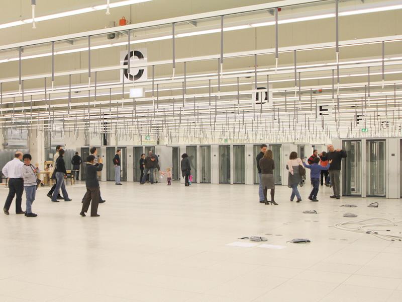 CSCS moves into new computer centre in Lugano